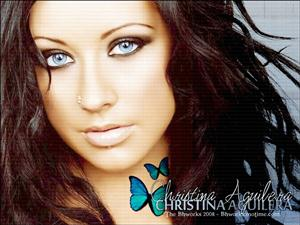 Christina Aguilera Screensaver Sample Picture 1
